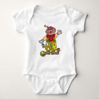 Body Para Bebê Palhaço 1