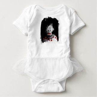 Body Para Bebê Palhaço assustador