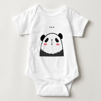 Body Para Bebê Panda preguiçosa