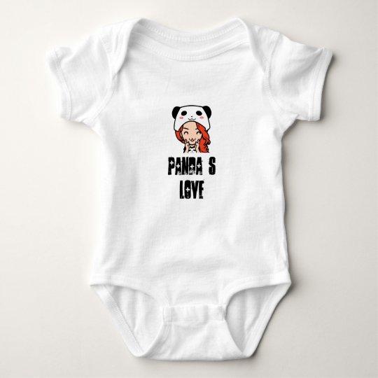 Body Para Bebê Panda´s Love