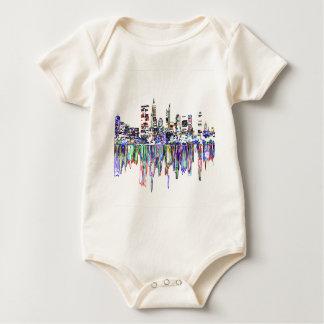Body Para Bebê Panorama da cidade