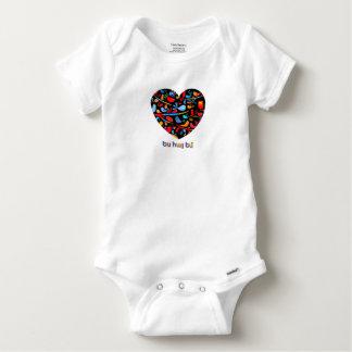 Body Para Bebê Panos arménios do bebê