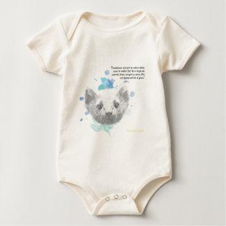 Body Para Bebê Pantalaimon, o demónio de Lyra de seus materiais