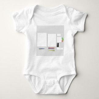 Body Para Bebê papéis das fontes