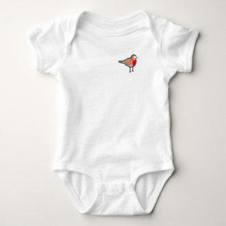 Body Para Bebê Papo-roxo