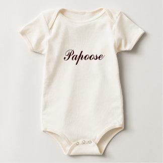 Body Para Bebê Papoose