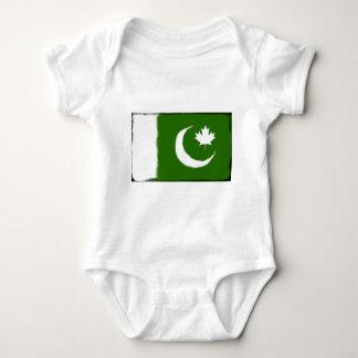 Body Para Bebê Paquistanês - fusão canadense