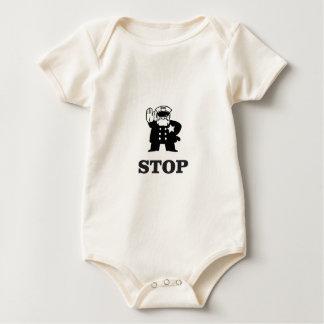 Body Para Bebê parada da bobina