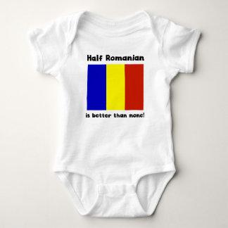 Body Para Bebê Parcialmente romeno