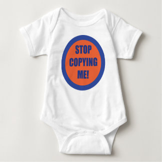 Body Para Bebê Pare de copiar-me!!!