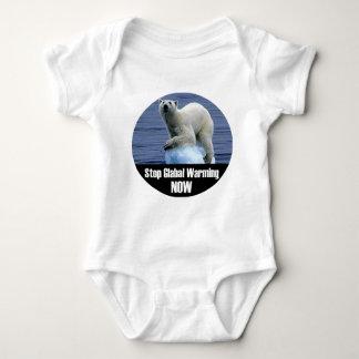 Body Para Bebê Pare o aquecimento global agora