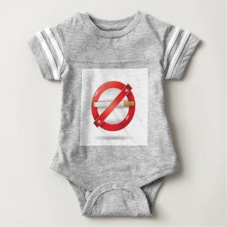 Body Para Bebê pare o cigarro