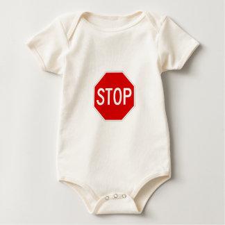 Body Para Bebê Pare o sinal