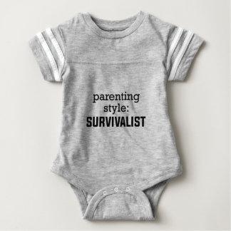 Body Para Bebê Parentalidade do Survivalist
