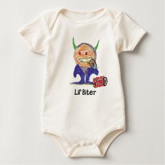 Body Para Bebê Parentes da sucata do Biter de Lil orgânicos