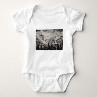 Body Para Bebê Parque de Yosemite no inverno