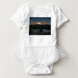 Body Para Bebê Parque nacional de árvore de Joshua do nascer do