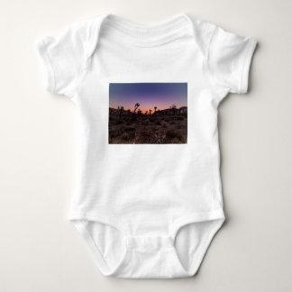 Body Para Bebê Parque nacional de árvore de Joshua do por do sol