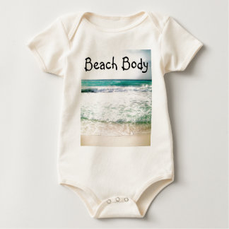 Body Para Bebê Parte superior do corpo da praia