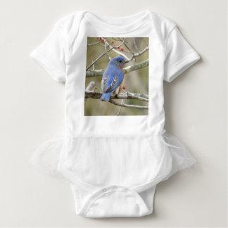 Body Para Bebê Parte traseira do Bluebird