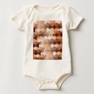 Body Para Bebê Partes da serra de vaivém do tom de pele