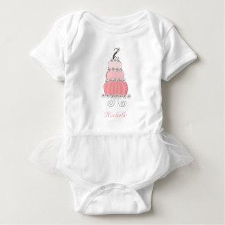 Body Para Bebê Partido de segundo aniversário da menina