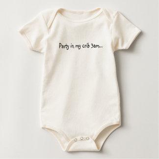 Body Para Bebê Partido em minha ucha 3am…
