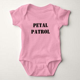 Body Para Bebê Partido nupcial da patrulha da pétala do casamento
