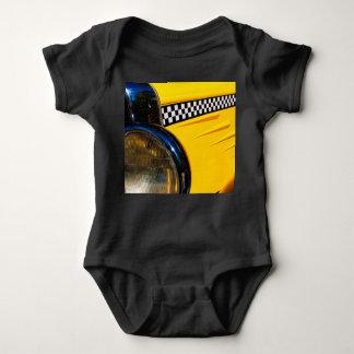 Body Para Bebê Passado Checkered