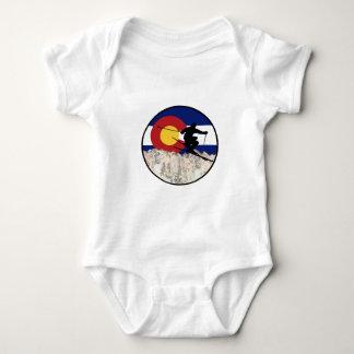 Body Para Bebê Passagem de montanha rochosa