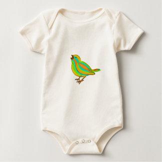 Body Para Bebê Pássaro bonito