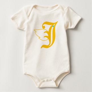 Body Para Bebê Pássaro de J