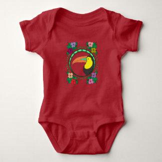 Body Para Bebê Pássaro de Toucan