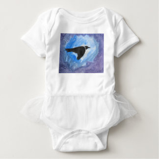 Body Para Bebê Pássaro na noite