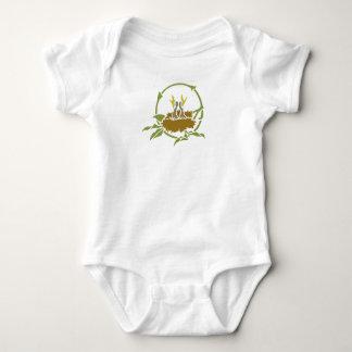Body Para Bebê Pássaros de bebê