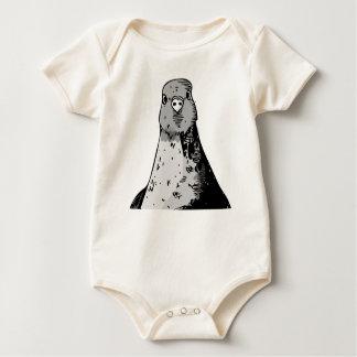 Body Para Bebê Pássaros mudos