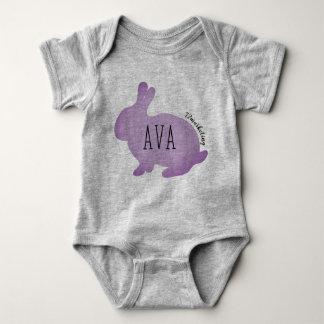 Body Para Bebê Pastel superior do primavera das meninas dos bebês