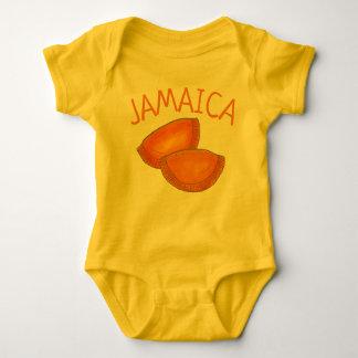 Body Para Bebê Pastelaria picante jamaicana de Jamaica dos