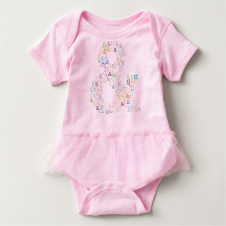 Body Para Bebê Pastels do Ampersand