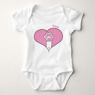Body Para Bebê Pata do gato