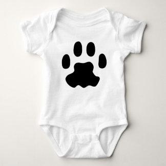 Body Para Bebê patas do animal de estimação