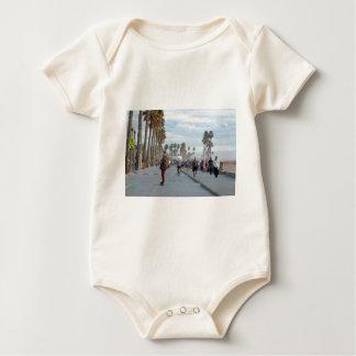 Body Para Bebê patinagem à praia de Veneza