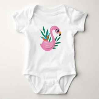 Body Para Bebê Patinho cor-de-rosa