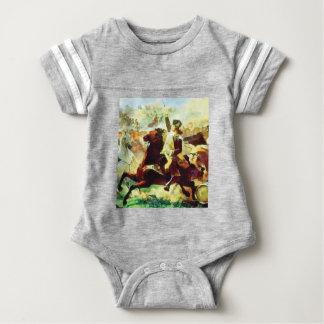 Body Para Bebê Patriota de galope