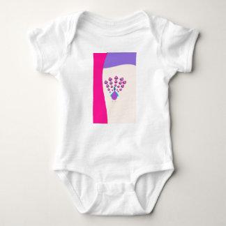 Body Para Bebê pavão