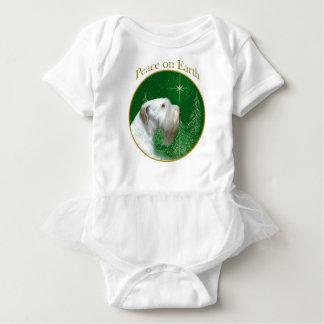 Body Para Bebê Paz de Sealyham Terrier na terra