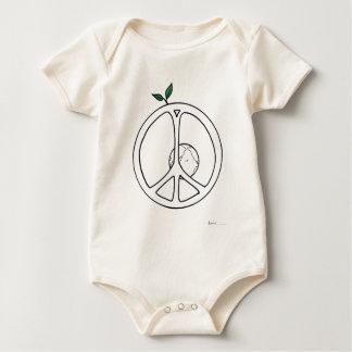 Body Para Bebê Paz na terra
