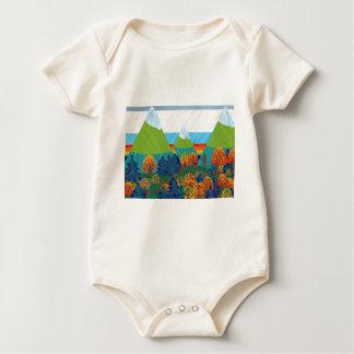 Body Para Bebê Pé grande