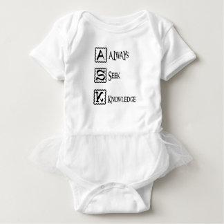Body Para Bebê Peça, procure sempre o conhecimento