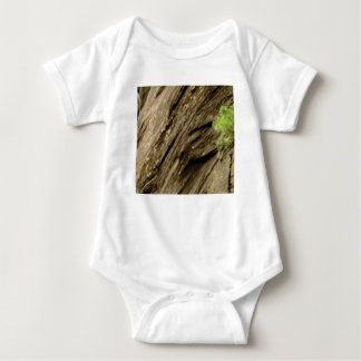 Body Para Bebê pedra inclinada da sombra
